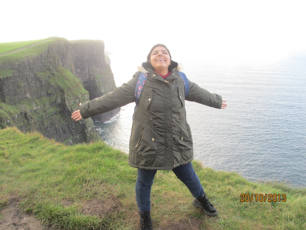 WajeehaZaidi_CliffsOfMoher_My First Semester-over in a blink of an eye (2)