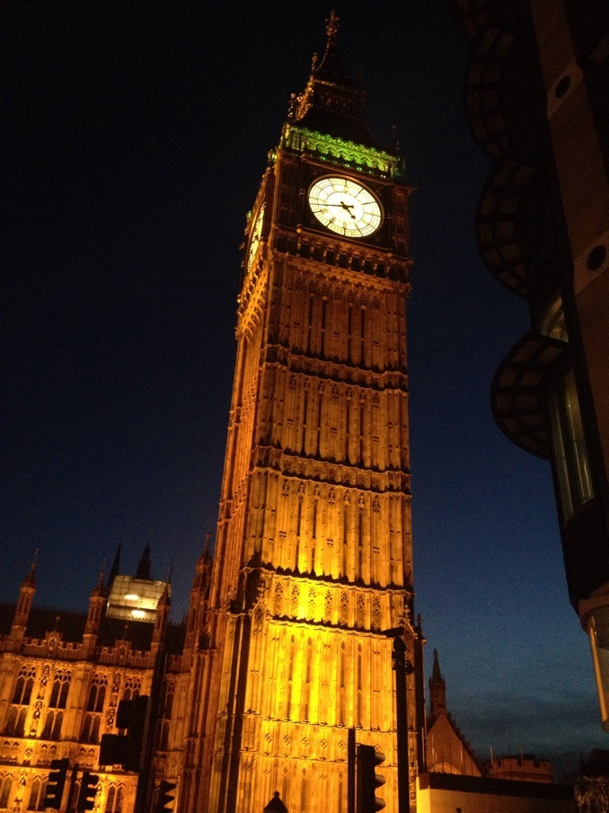 Big Ben - It's amazing, isn't it?!