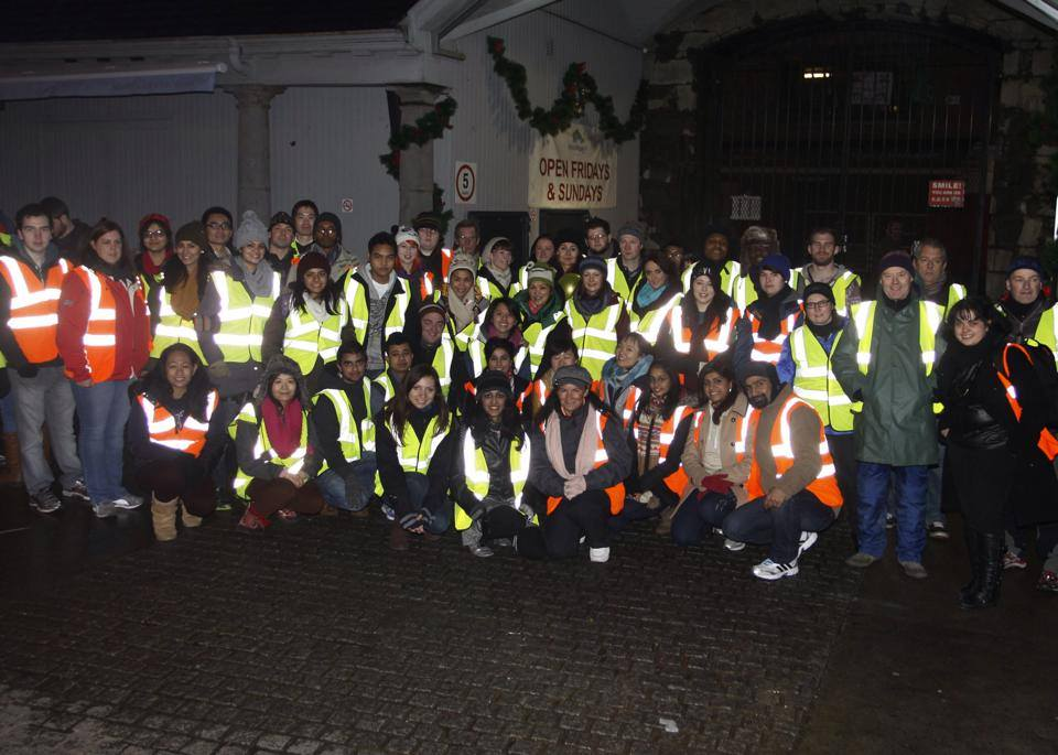 Group Picture NYE Volunteers 2013