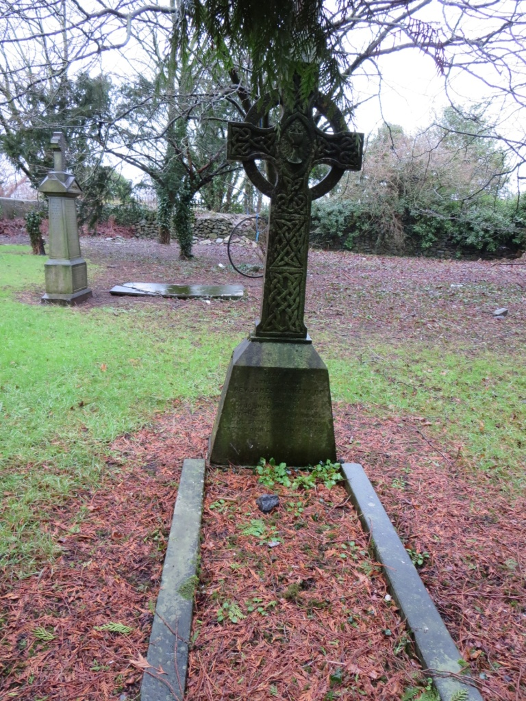 The grave of the man who baptized my great-grandmother – Rathdowney