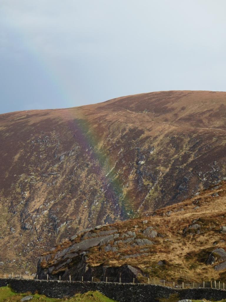 Can you spot the faint rainbow?? – Kerry
