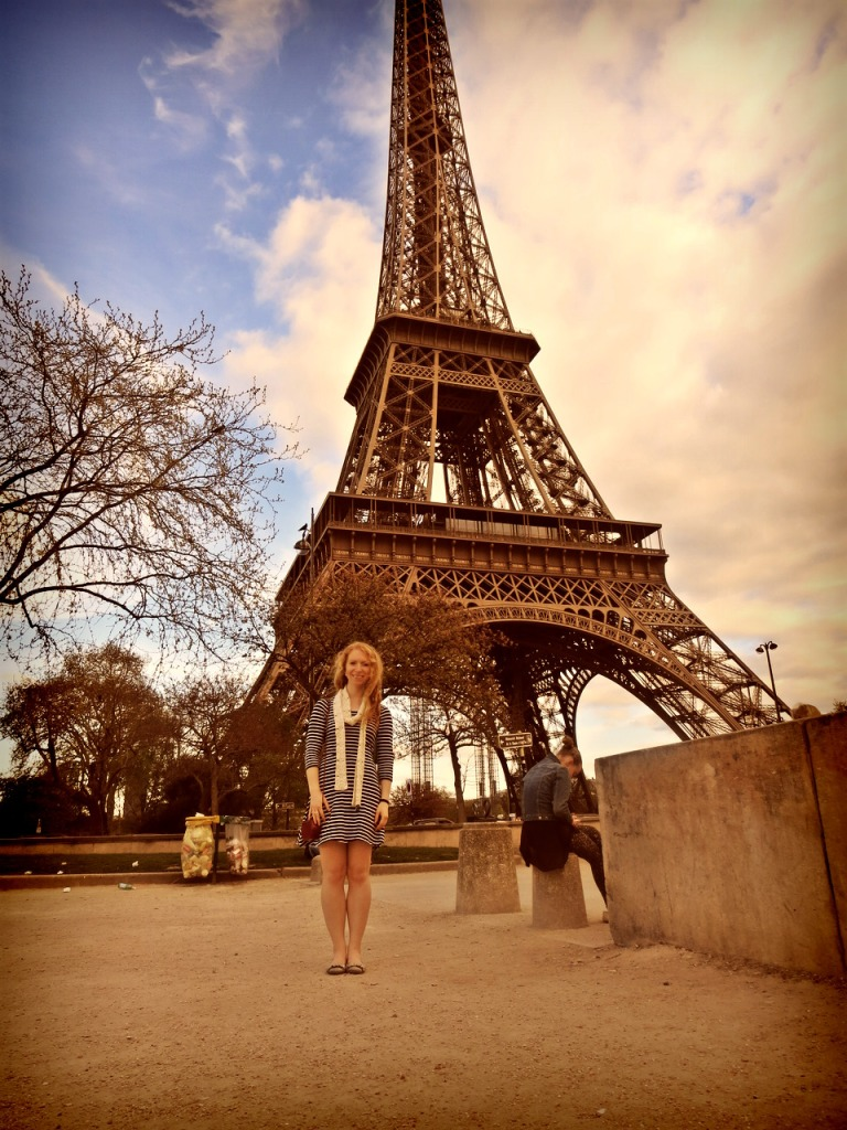 Obligatory Eiffel Tower Instagram shot