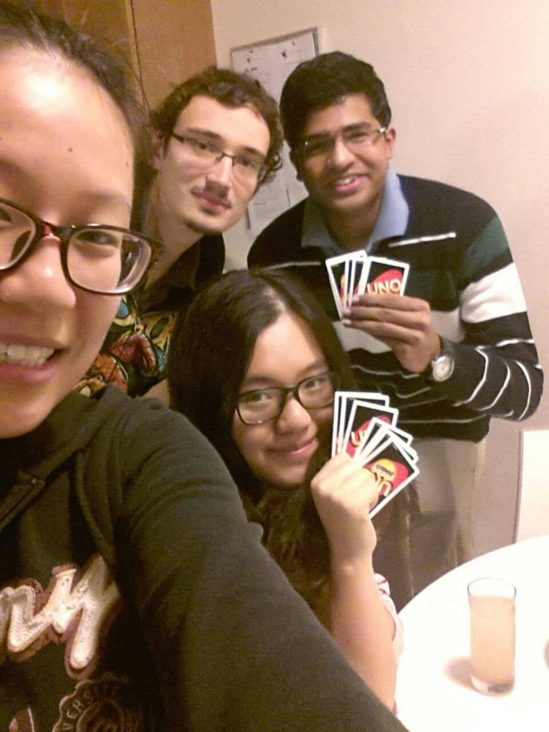 Fun and games with my housemates