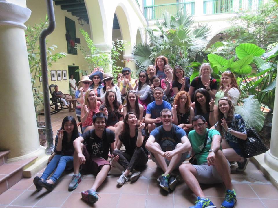 MA in International Tourism Class