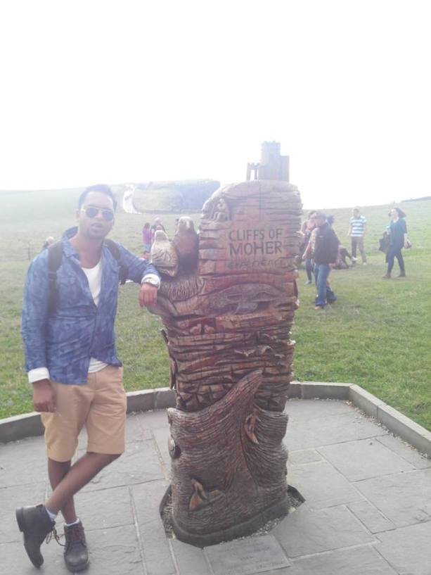 Cliffs of Moher is the signature sign for any student studying in Ireland