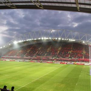Thomond Park, the home of Muster Rugby