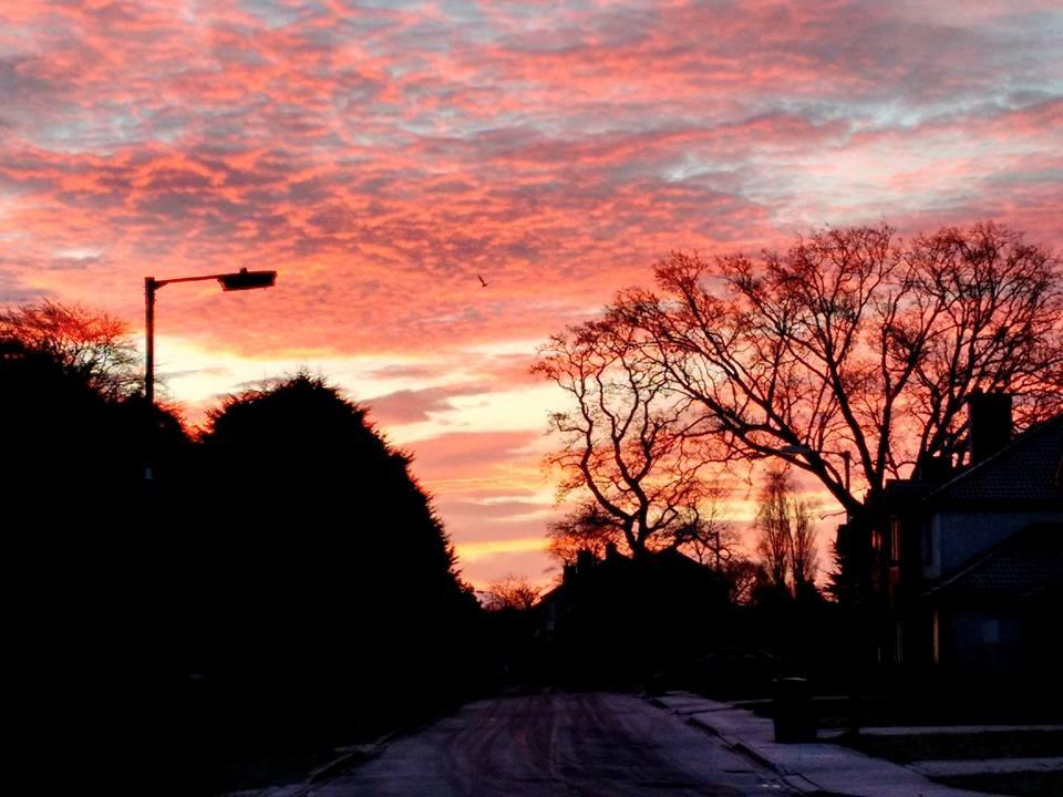 Limerick sunset
