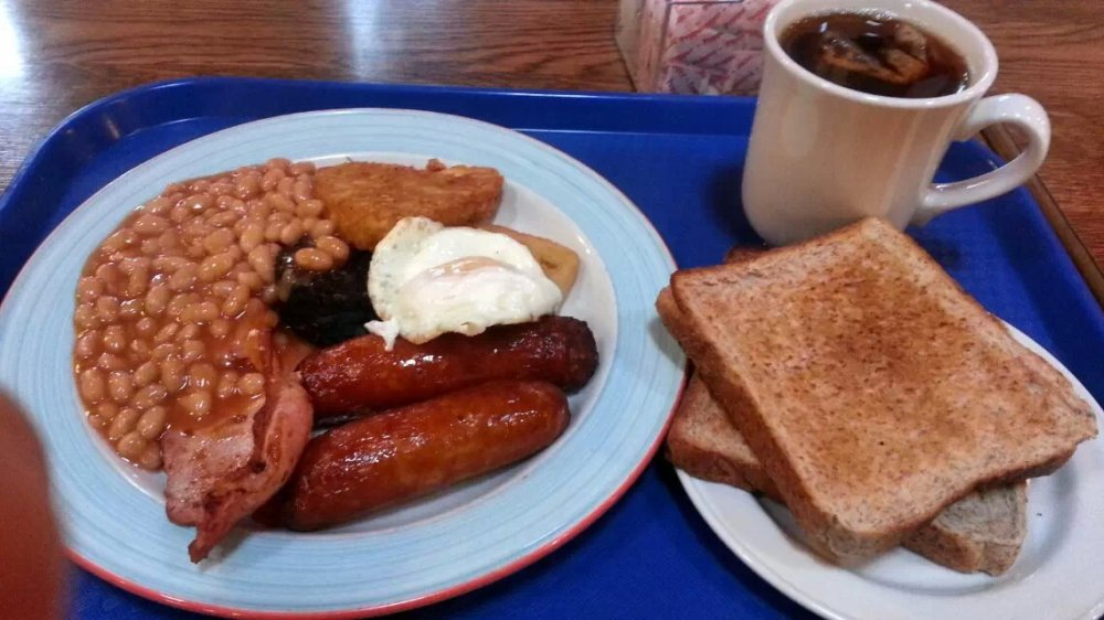 Very tasty full Irish breakfast!!! Very full!!!