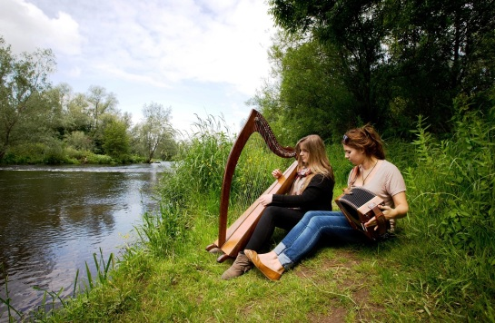 The River Shannon runs right through campus