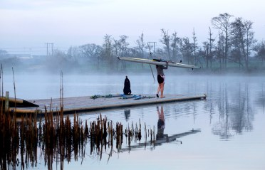 08/04/2015 University of Limerick Rowing. University of Limerick General Views. Picture: Alan Place/FusionShooters.