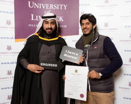 Masters of Engineering in Information and Network Security is Abdulqadet Alrashdi and friend Fahad Alhamahi