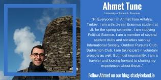 Ahmet Tunc, Turkey