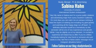 Sabina Hahn, USA