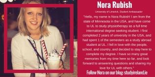 Nora Rubish, USA