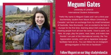 Megumi Gates, Canada